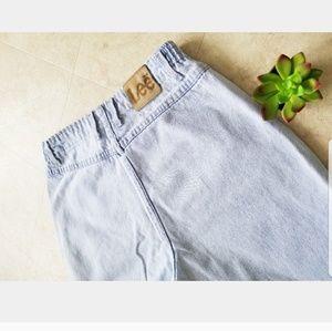 Vintage LEE High Waisted Bareback Wedgie Mom Jeans